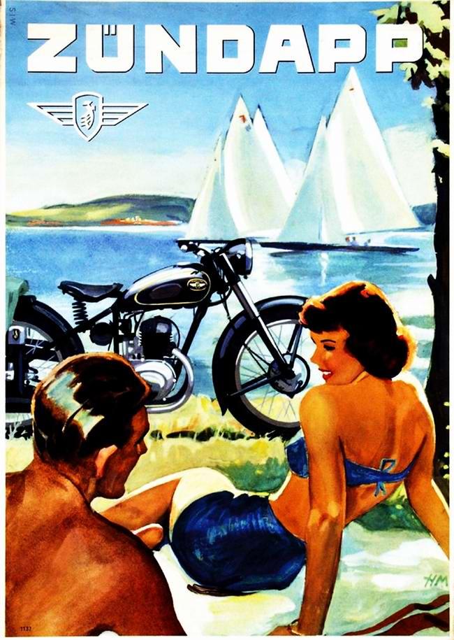 Zundapp - Германия (1953 год)