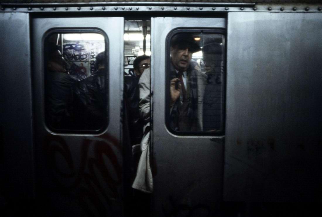Американский фотограф Christopher Morris: Граффити и андеграунд нью-йоркского метро (13)