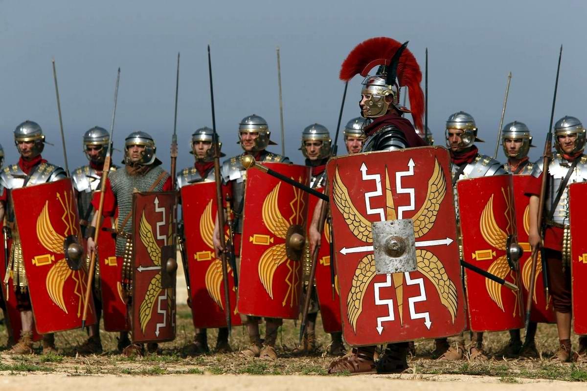 Легионеры армии Древнего Рима: Современный вариант попытки захвата острова Мальта (4)