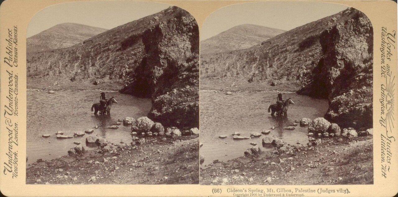 Гора Гильбоа, Источник Гедеона