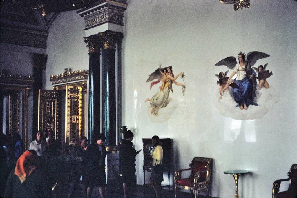 More grandeur, Hermitage, Leningrad.  9/27/68