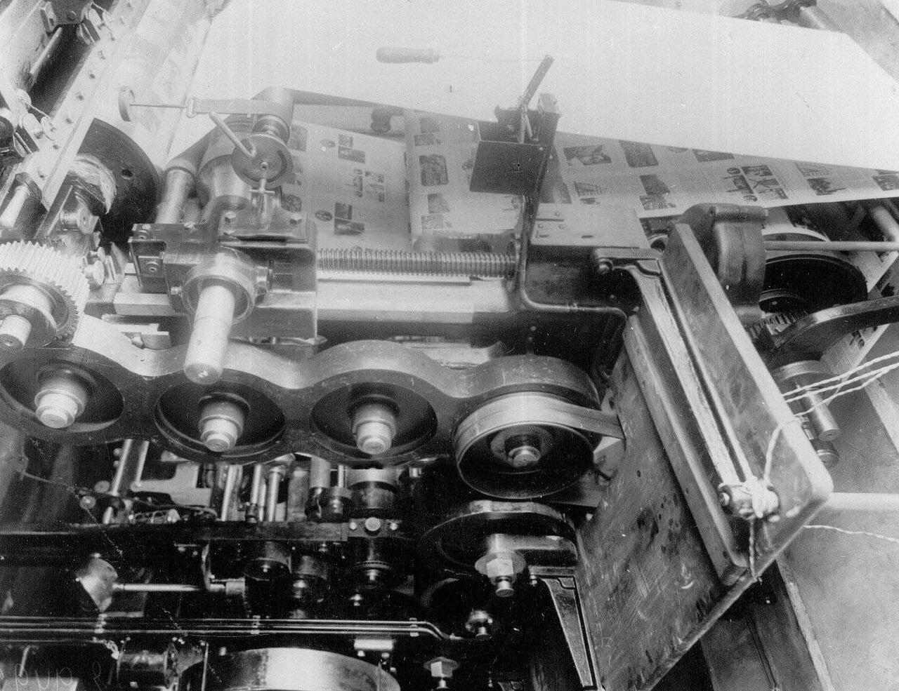 25. Часть типографской машины