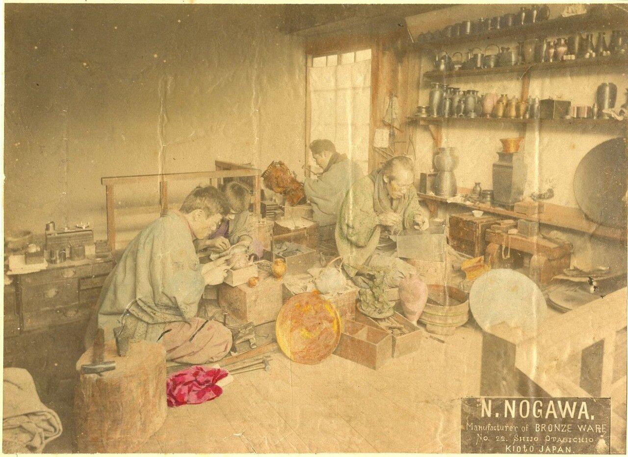 Мастерская по производству изделий из бронзы