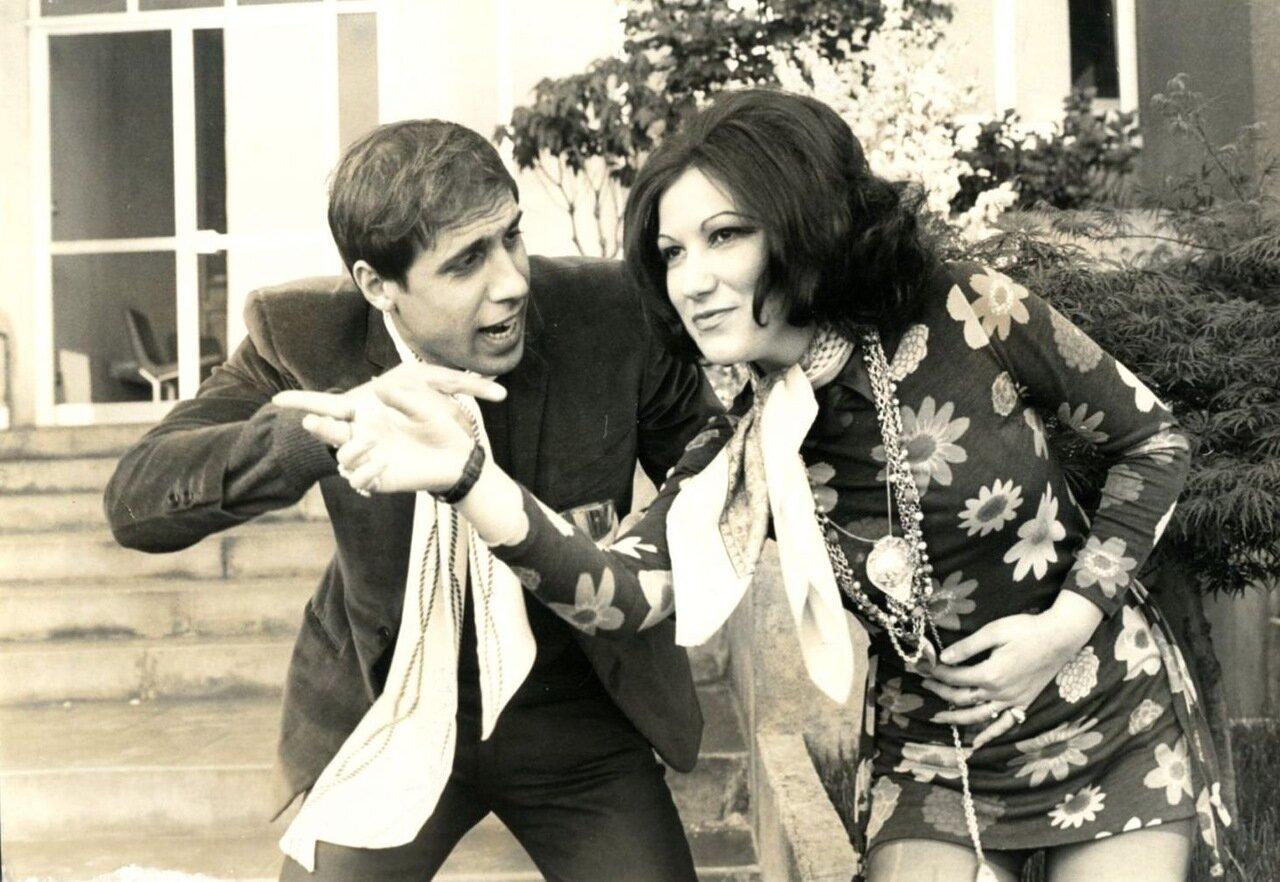 1969. Адриано Челентано и Мария Луиджия