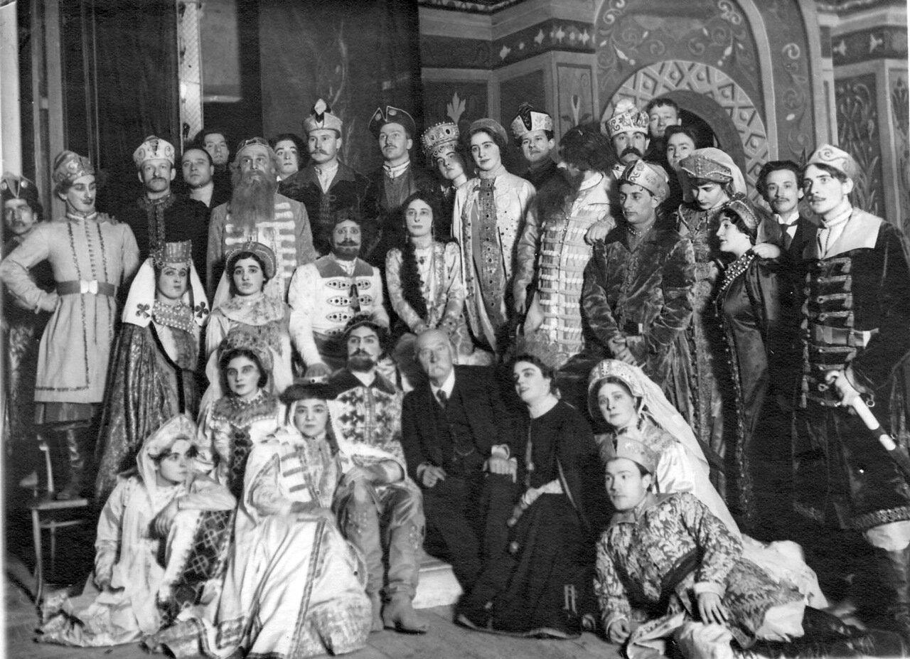 46. Участники оперы оперы Н.А. Римского-Корсакова «Царская невеста»