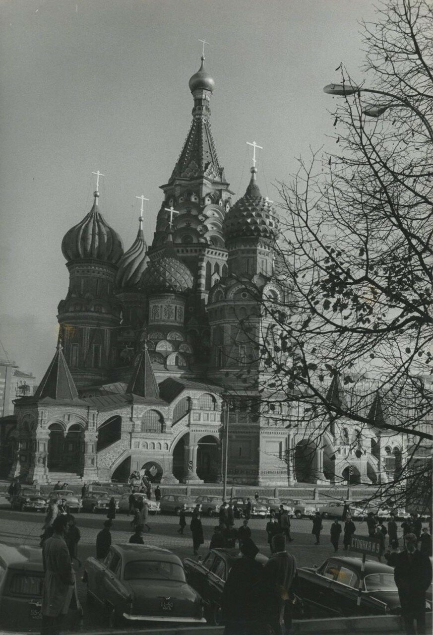 1976. Собор Василия Блаженного