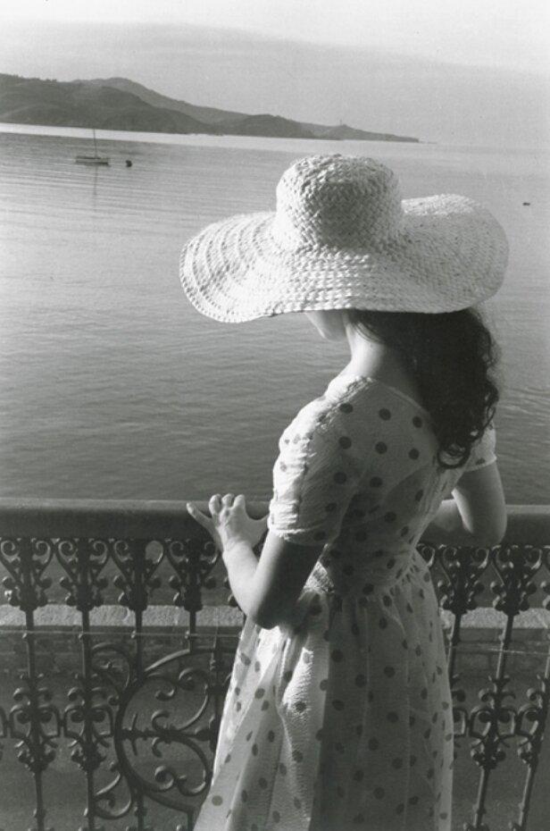 1954. Софи. Коллиур, Франция