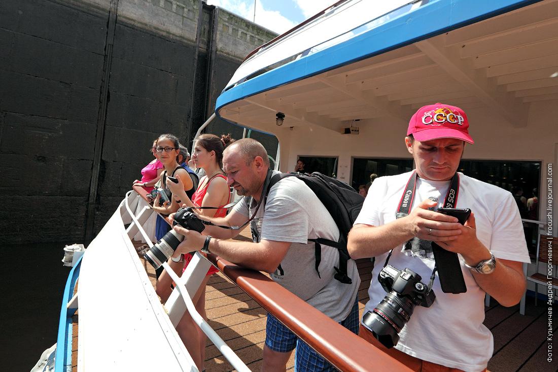 блогеры на борту теплохода Михаил Булгаков