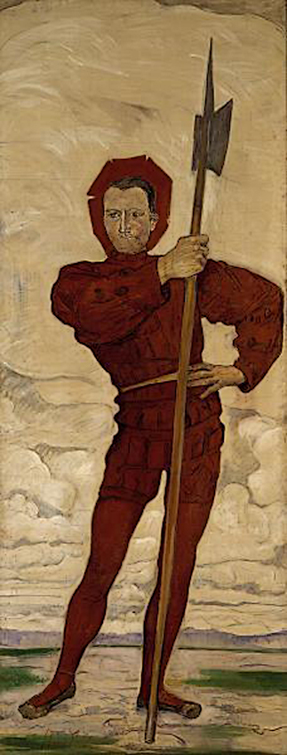 Ferdinand_Hodler_-_The_Halberdier_1895