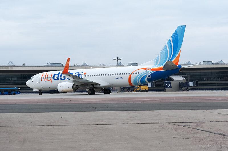 Boeing 737-8KN (A6-FEL) Flydubai D700412e