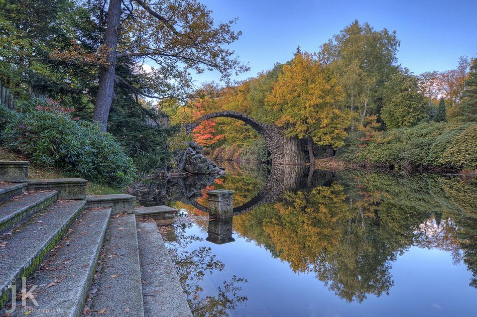 Чертов мост Германия фото
