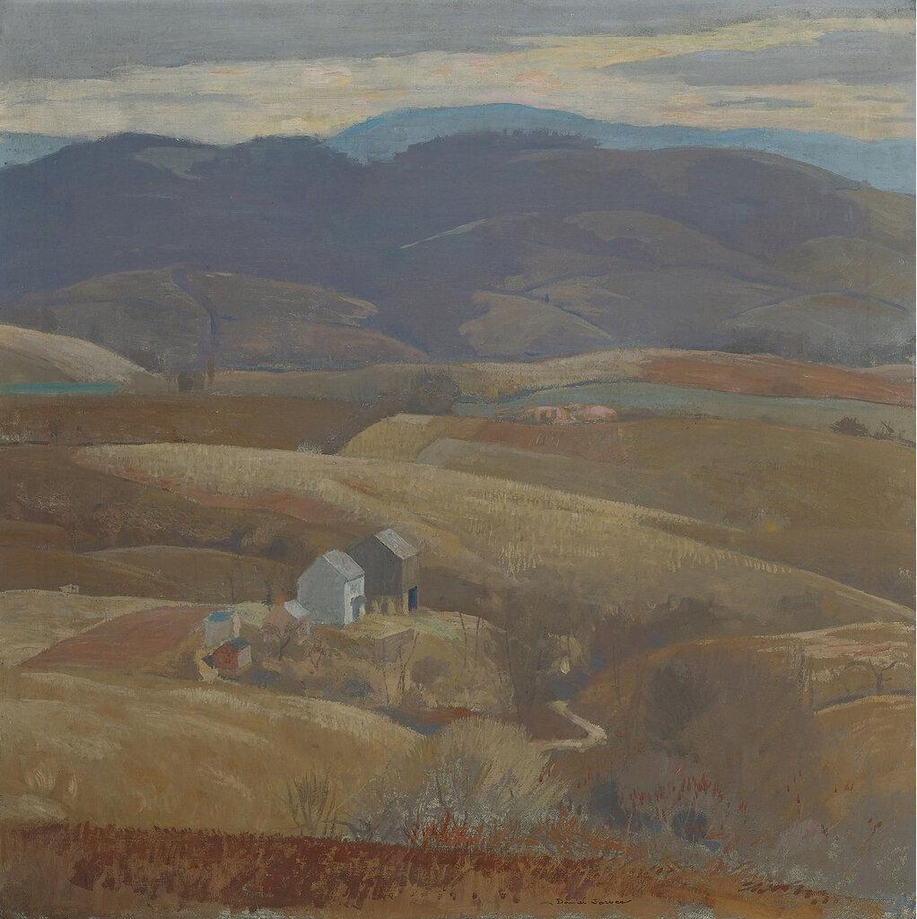 Daniel Garber - Lone Farm, 1930.jpeg