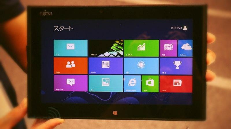 Новинки японских планшетов