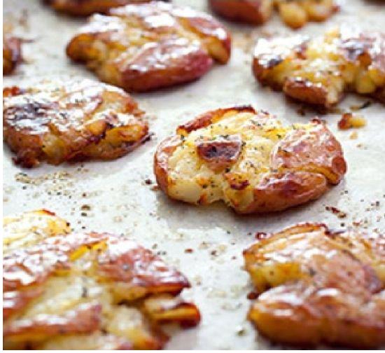 Картофельное пюре запеченное со специями