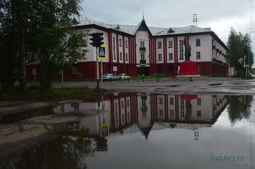 Фотография Инты №7132  Северо-восточный угол Кирова 19 24.08.2014_12:05
