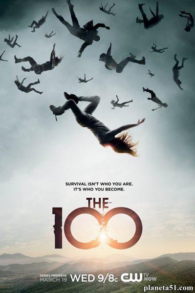 Сотня (1 сезон: 1-13 серии из 13) / The 100 / 2014 / ПМ (NewStudio) / WEB-DL (1080p)