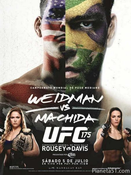 Бои без правил - UFC 175 Chris Weidman vs Lyoto Machida (2014/HDTVRip/ENG)