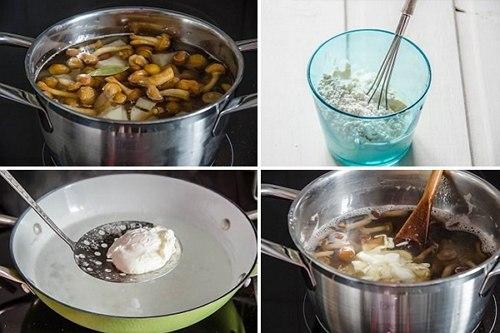 грибной чешский суп рецепт