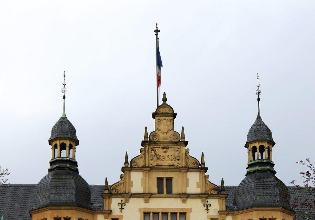 Мец. Дворец Гувернау. Palais du Gouverneur. Metz