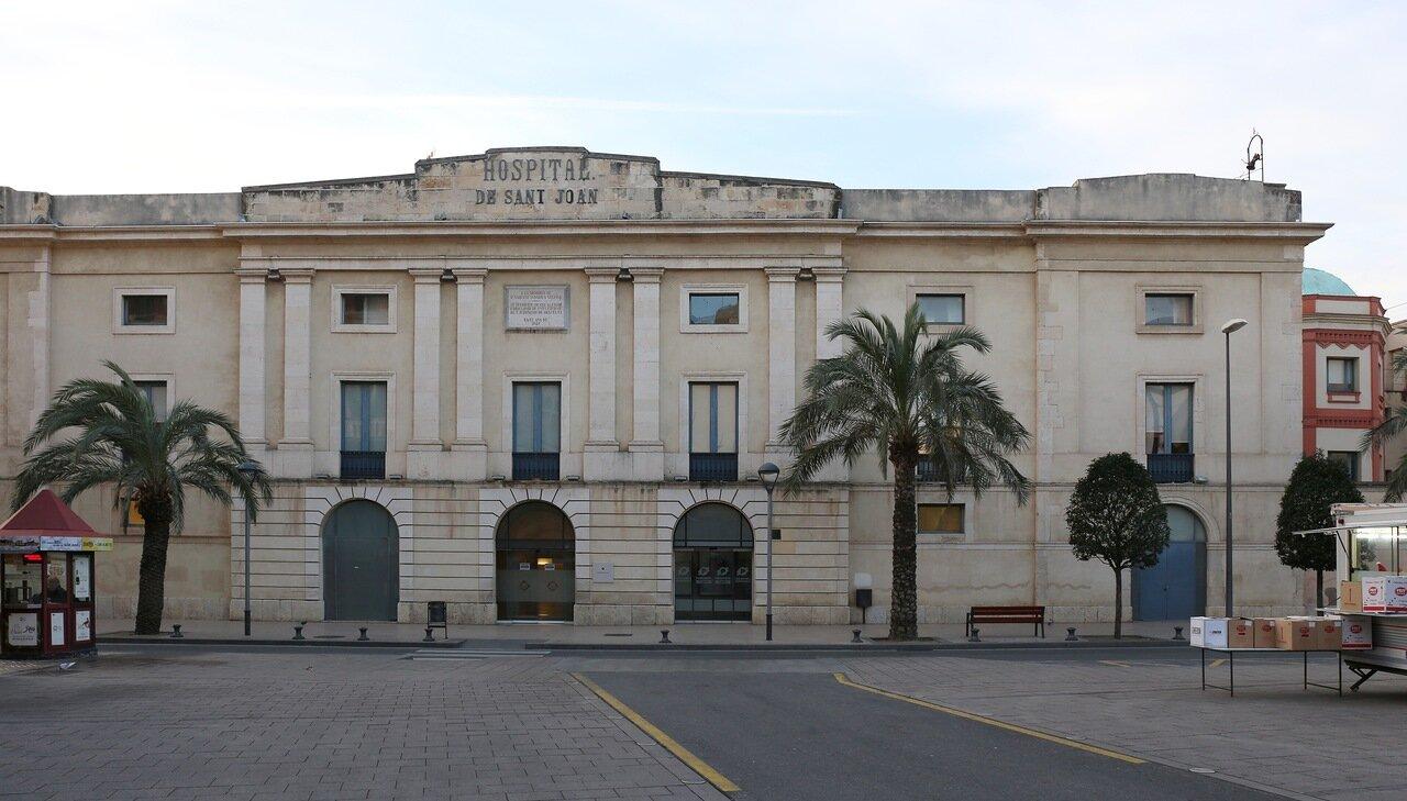 Реус. Маршрут модерна.  госпиталь Сан Хуан. Hospital Sant Joan