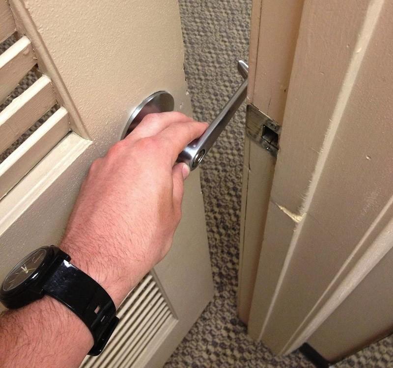 15. С такой дверью одиночество вам не грозит.