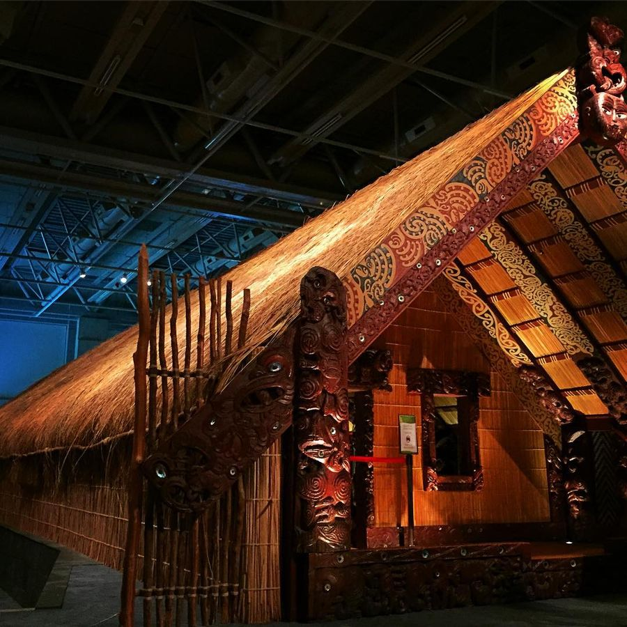 25. Национальный музей Те-Папа-Тонгарева (Веллингтон, Новая Зеландия) Национальный музей Новой Зелан