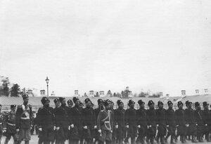 Церемониальный марш Донской батареи.  7 апреля 1903