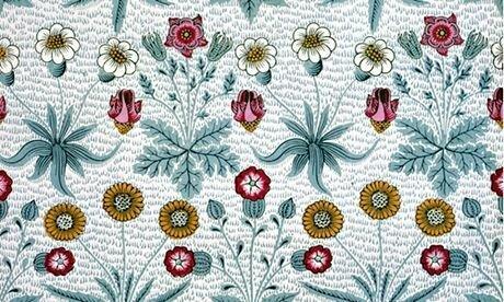William Morris's Daisy wallpaper