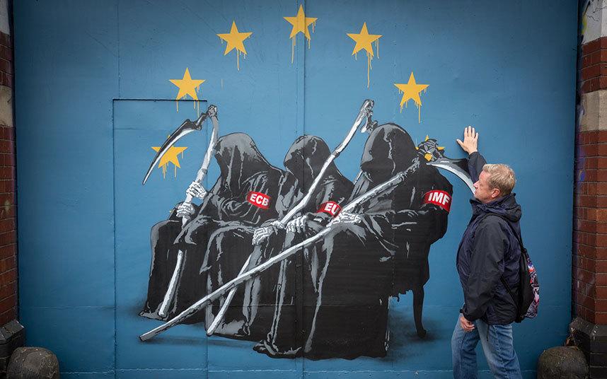 Крупный стрит-арт Европы
