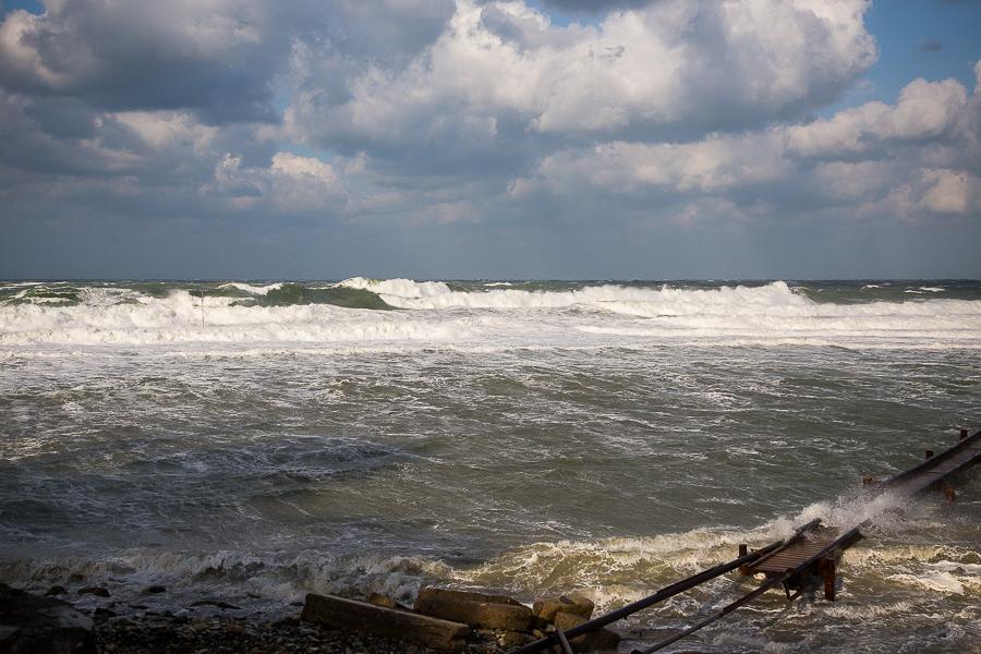 Анапа шторм