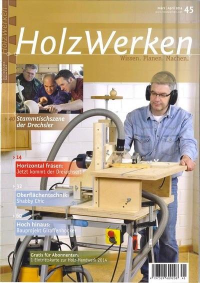 Книга Подшивка журналов: HolzWerken №№44, 45 (январь - апрель 2014)[De]