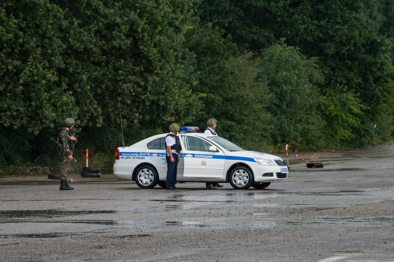 Учения полиции в Ставрополе