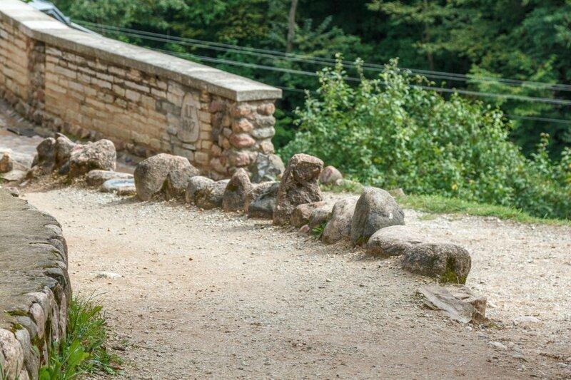 Камни около смотровой площадки