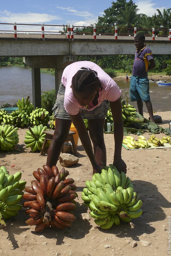 Ангола, по дороге от Бенгелы до Луанды