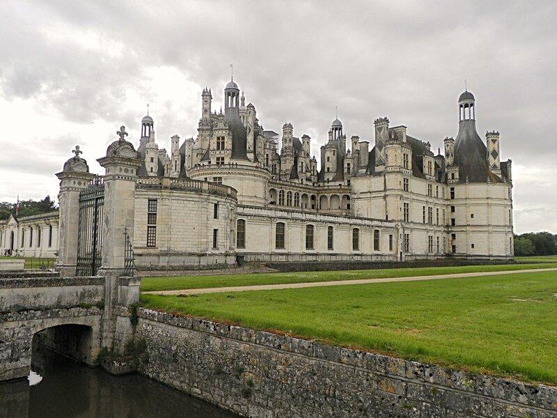 Королевский замок Шамбор XVI века