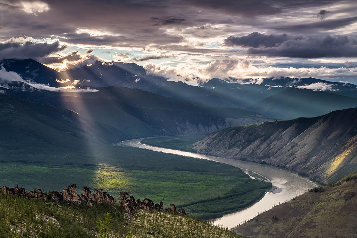 Река Индигирка