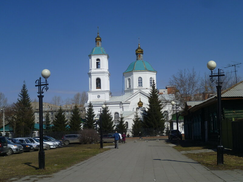 Омск, Крестовоздвиженский собор (Omsk, Holy Cross Cathedral)