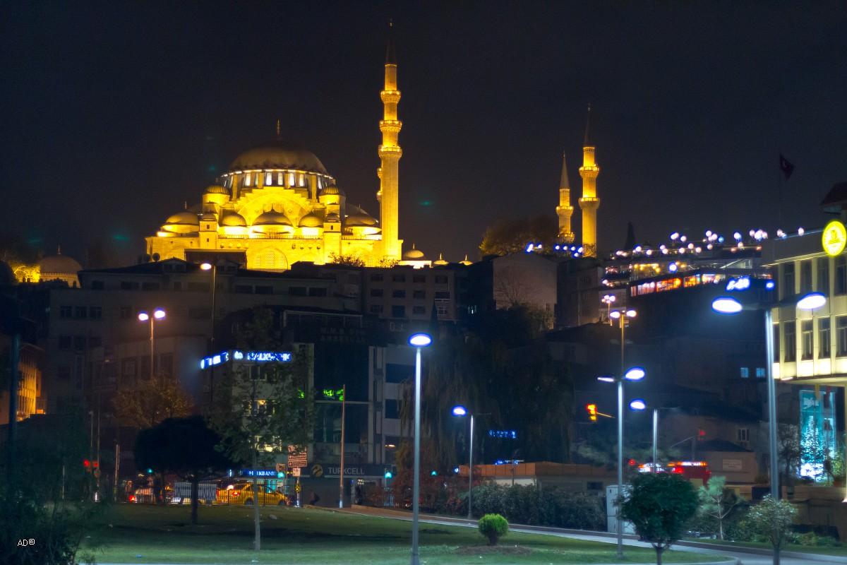 Стамбул - Ночной Босфор