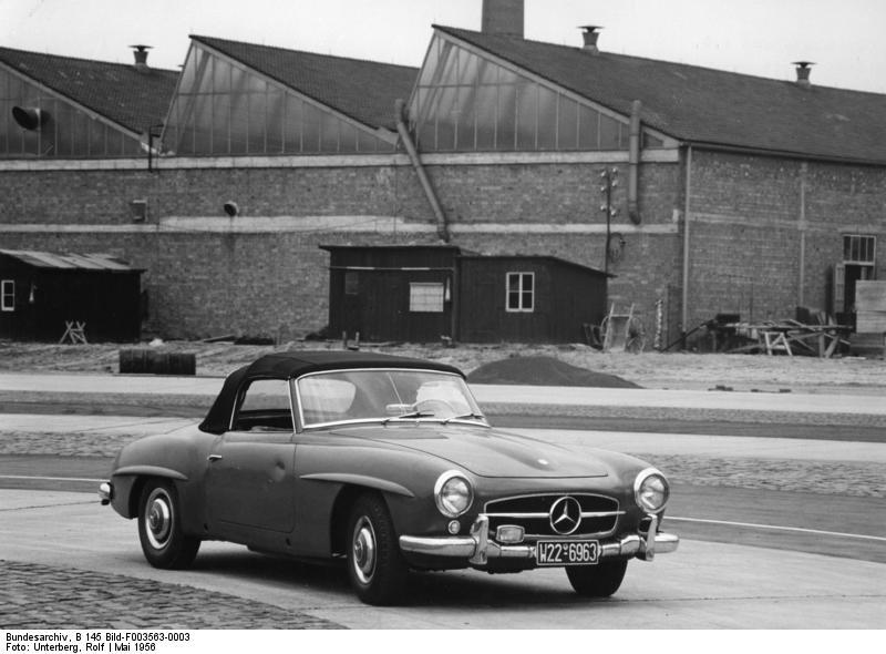 Stuttgart-Untertьrkheim, Mercedes Autowerk