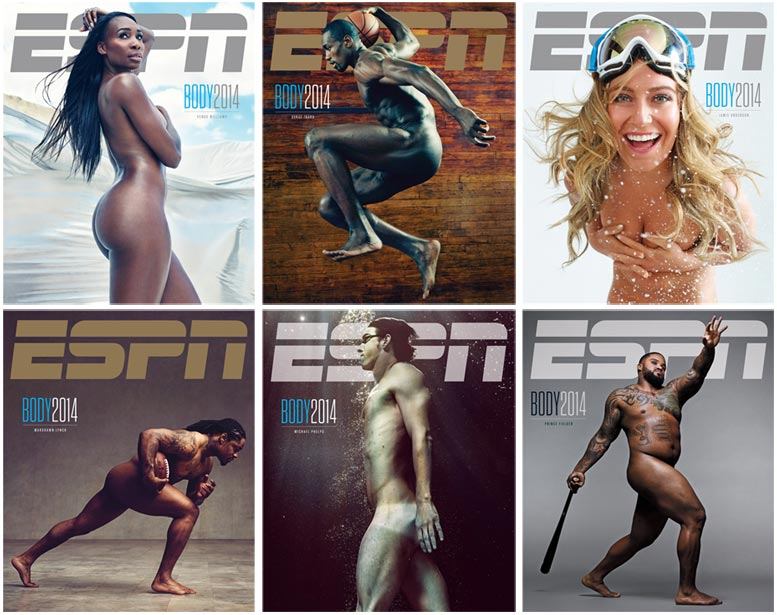 ESPN Magazine Body Issue 2014