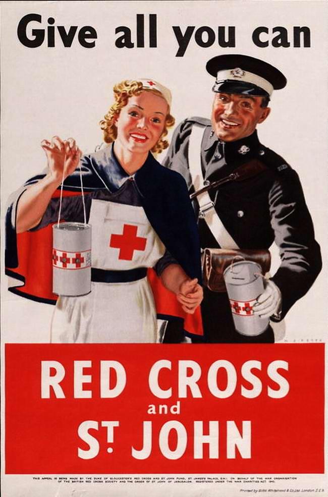 Красный Крест - пожертвуй сколько можешь (Великобритания)