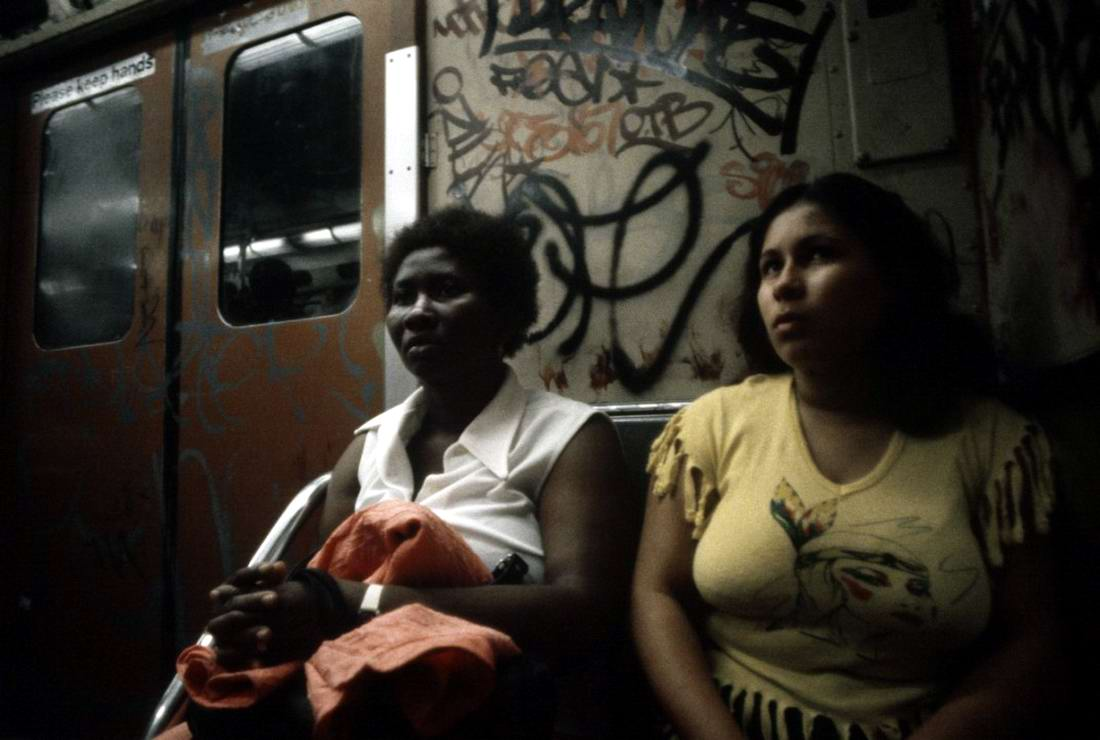 Американский фотограф Christopher Morris: Граффити и андеграунд нью-йоркского метро (17)