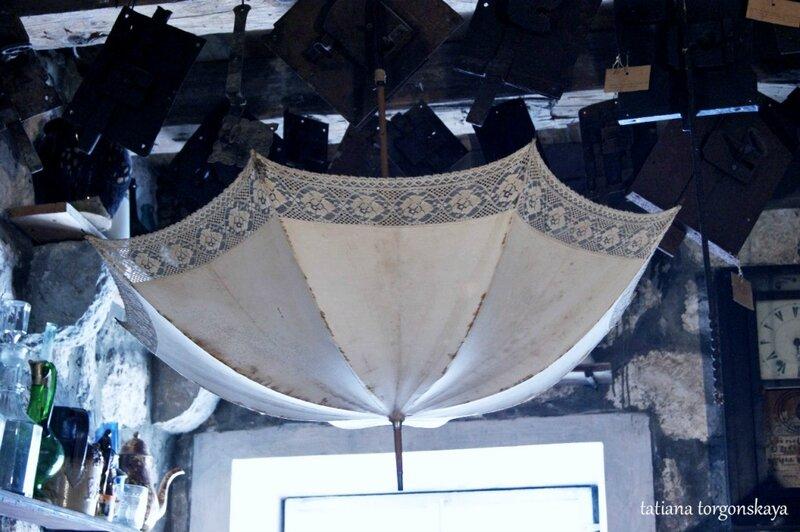 Старый зонтик