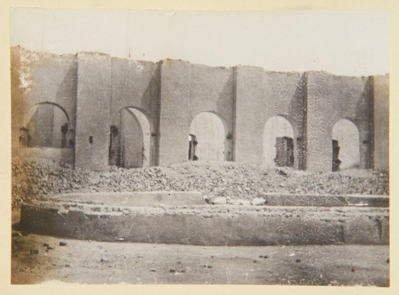 Хартум. Двор дворца Гордона, с бассейном и фонтаном. 4 сентября 1898.
