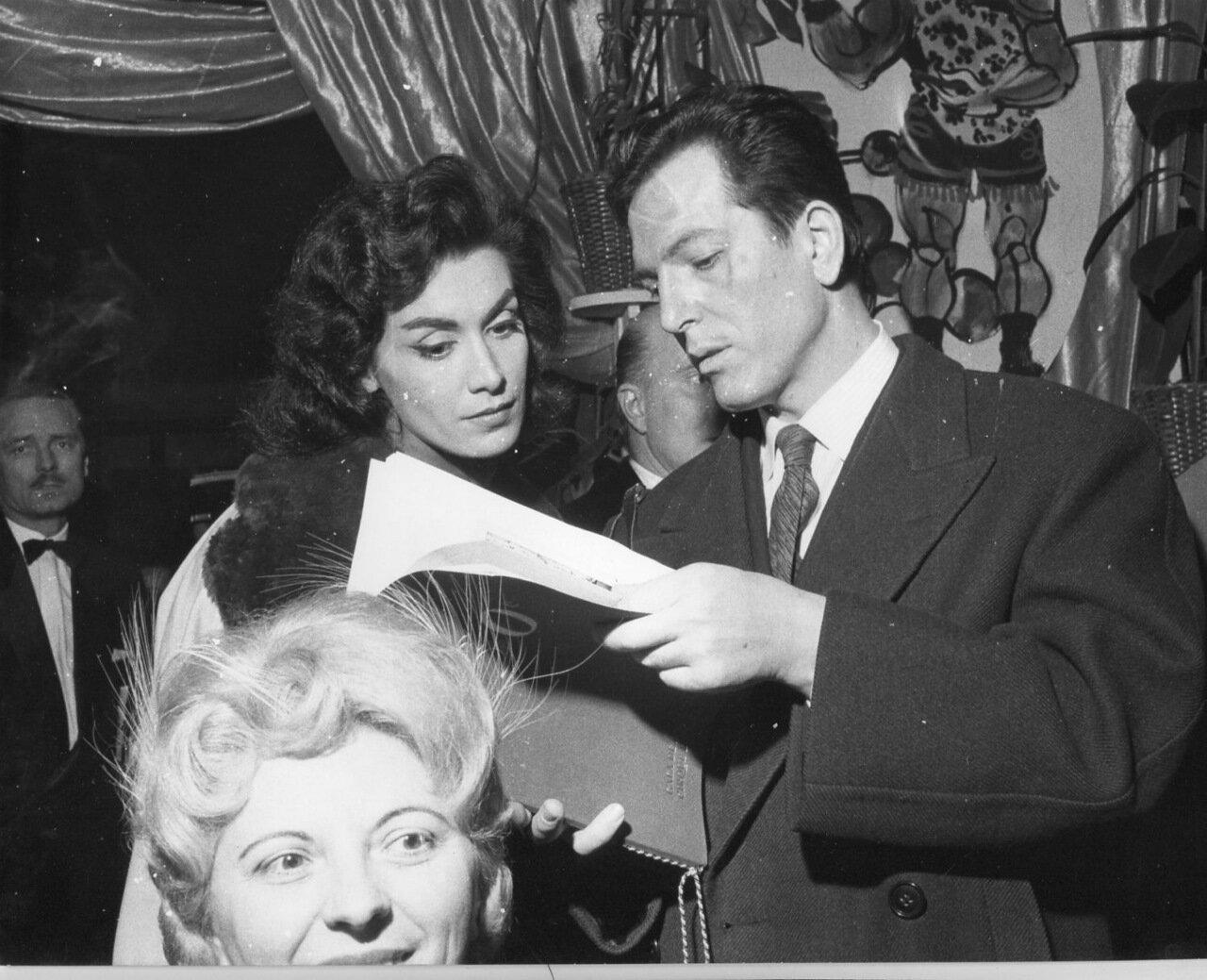 1960. Жиль Деламар и Колетт Дюваль