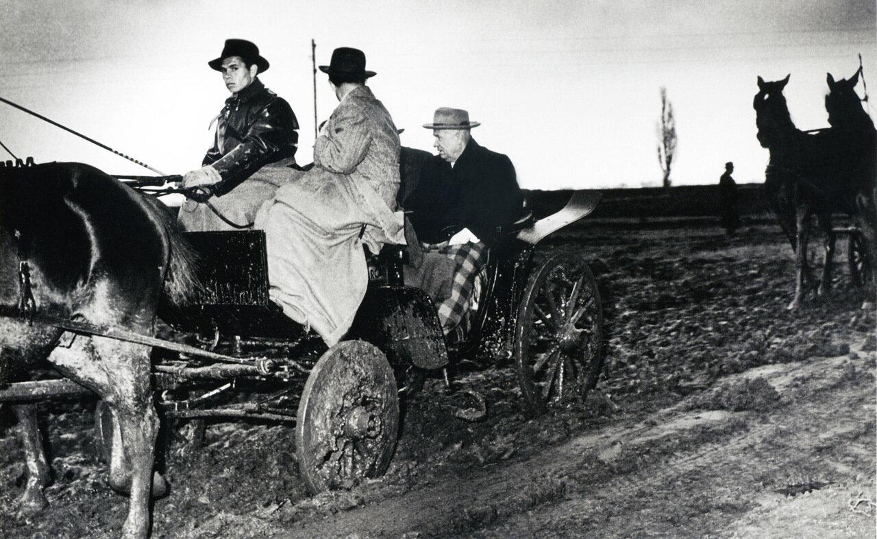 1955. По дорогам Венгрии