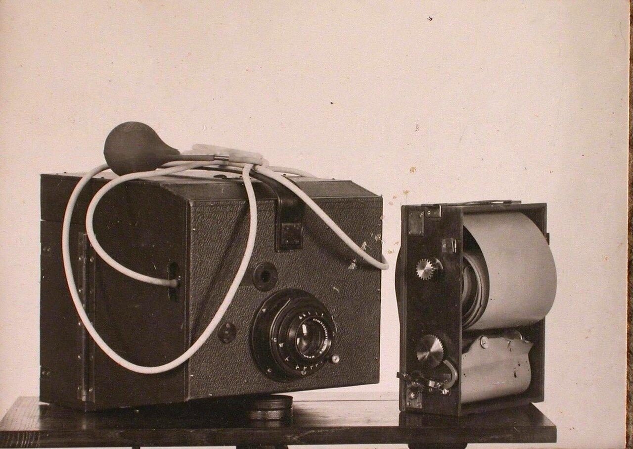 32. Фотографический аппарат полковника Потте