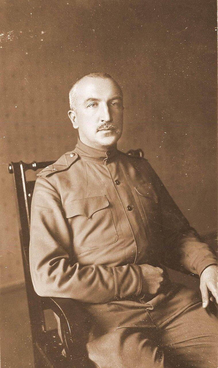 01. Начальник штаба Генерального штаба генерал-майор Беляев. Ковель. 1915