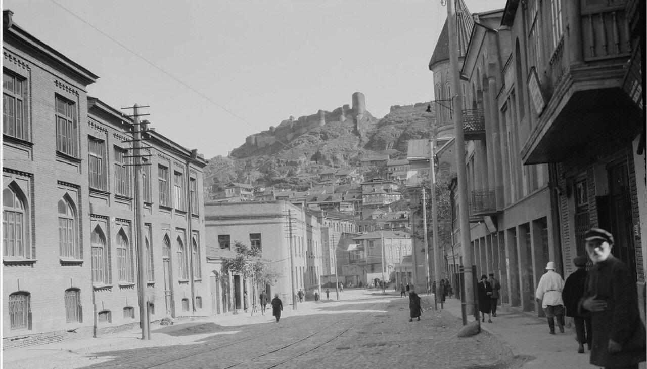 Тбилиси. Цитадель Нарикала