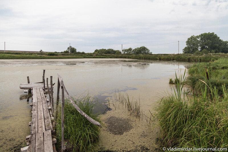 Усадебный пруд в Кистыше